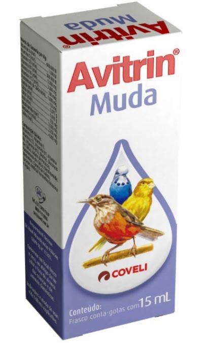 Suplemento Vitamínico Avitrin Muda 15ml Coveli