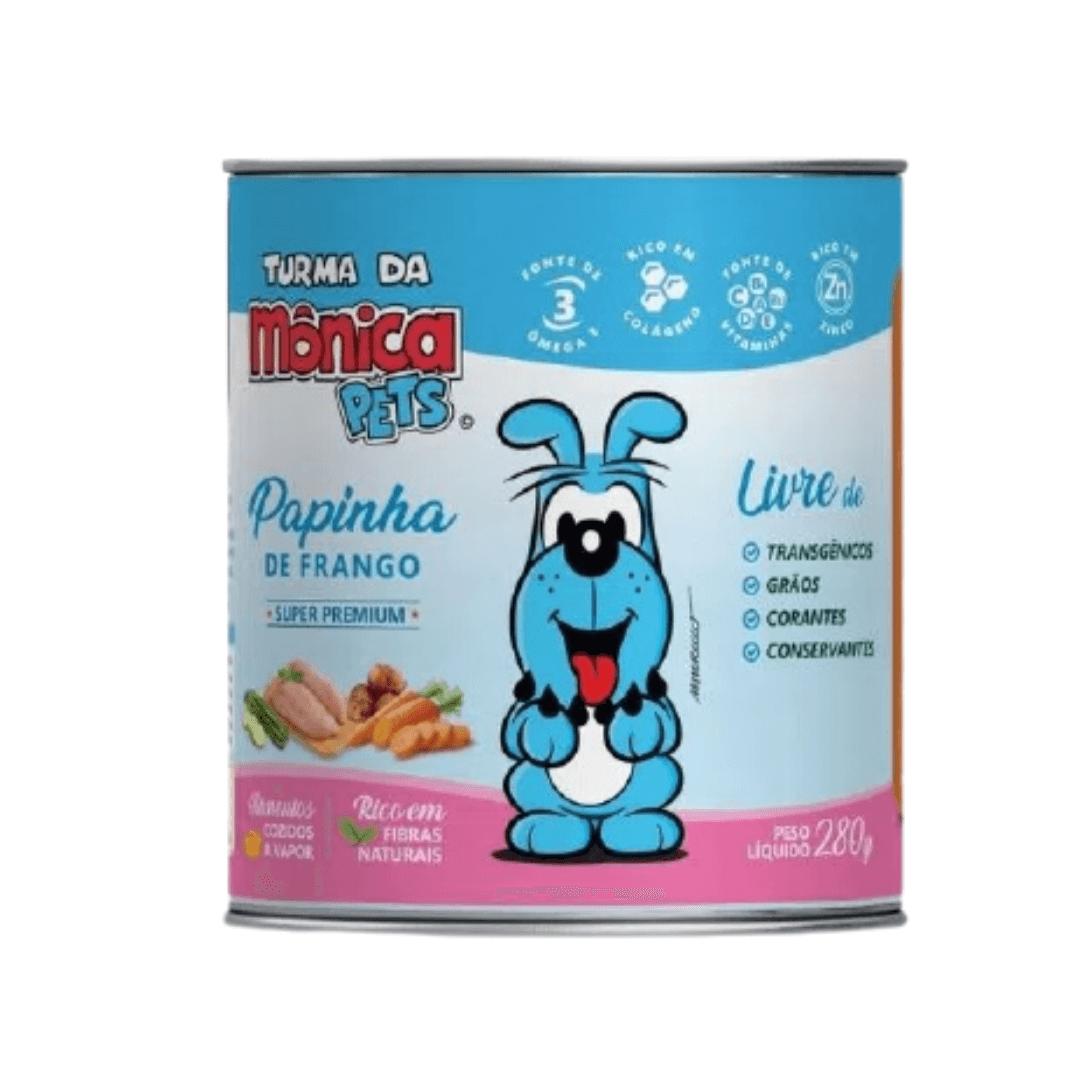 Turma da Mônica Pets - Alimento Natural Super Premium Papinha de Frango 280g