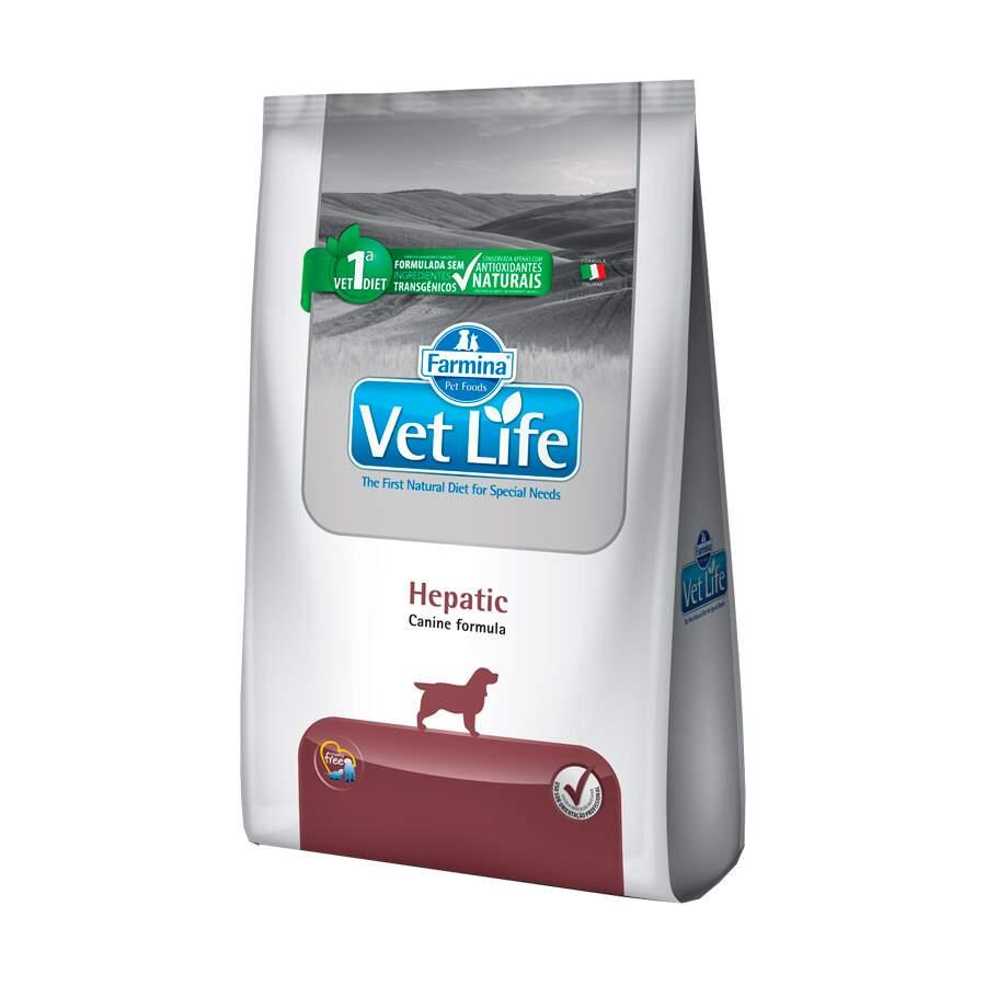 Ração Vet Life Hepatico Cães 2kg