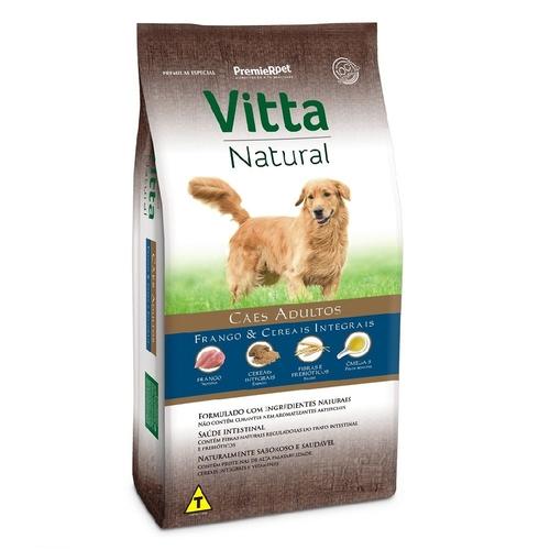 VITTA NATURAL CAES AD CARNE/ARRO 15KG