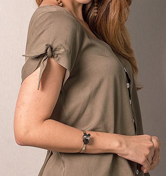 Camisa manga curta nozinho