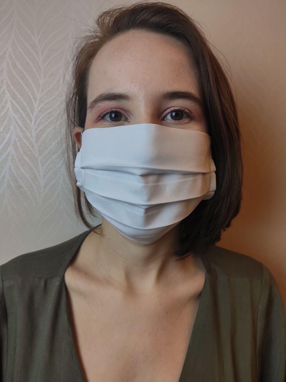 Máscara algodão KIT 100 unidades