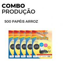 500 Papéis Arroz (5 pacotes de 100 und)
