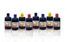 8 Garrafas de Corante 500ml (2 kits 500ml) Marca Universal - O Melhor Corante para Impressão Comestível