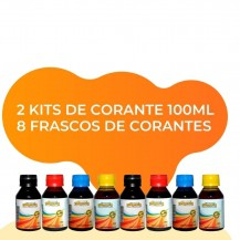 Combo 2 Kits de Corante 100ml