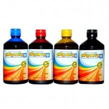 Kit Corantes p/ impressão em papel arroz - 500ml (4 frascos)