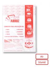 Folha de Instrução - Tamanho A3 - 50 folhas