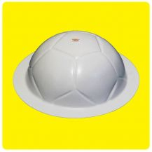 Molde Bola De Futebol - Bolo Fácil