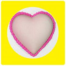 Molde Fácil - Coração 30 cm Grande