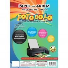 Papel Arroz A4 - Tipo A - Fotobolo - Embalado a vácuo - 20 folhas
