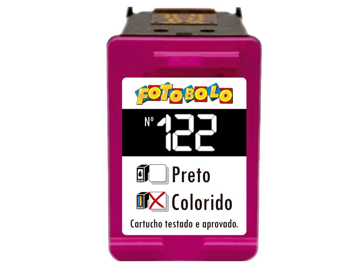 Cartucho Colorido 122