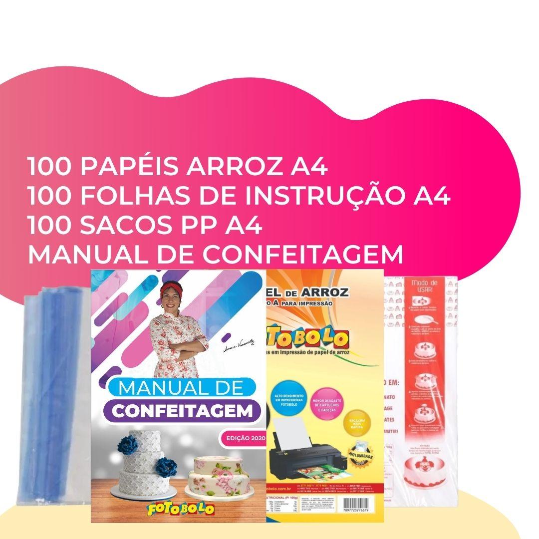 Combo Confeiteira - A4 + Manual de Confeitagem