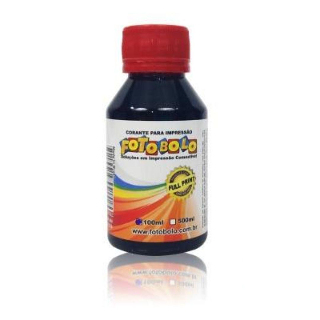 Corante - 100 ml - Magenta (Vermelho)