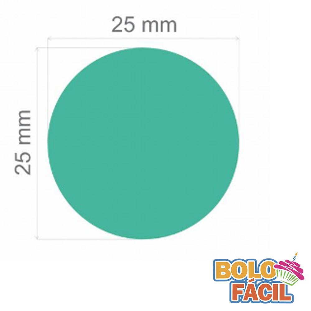 Cortador De Círculo 2,5 Papel Arroz - Bolo Fácil