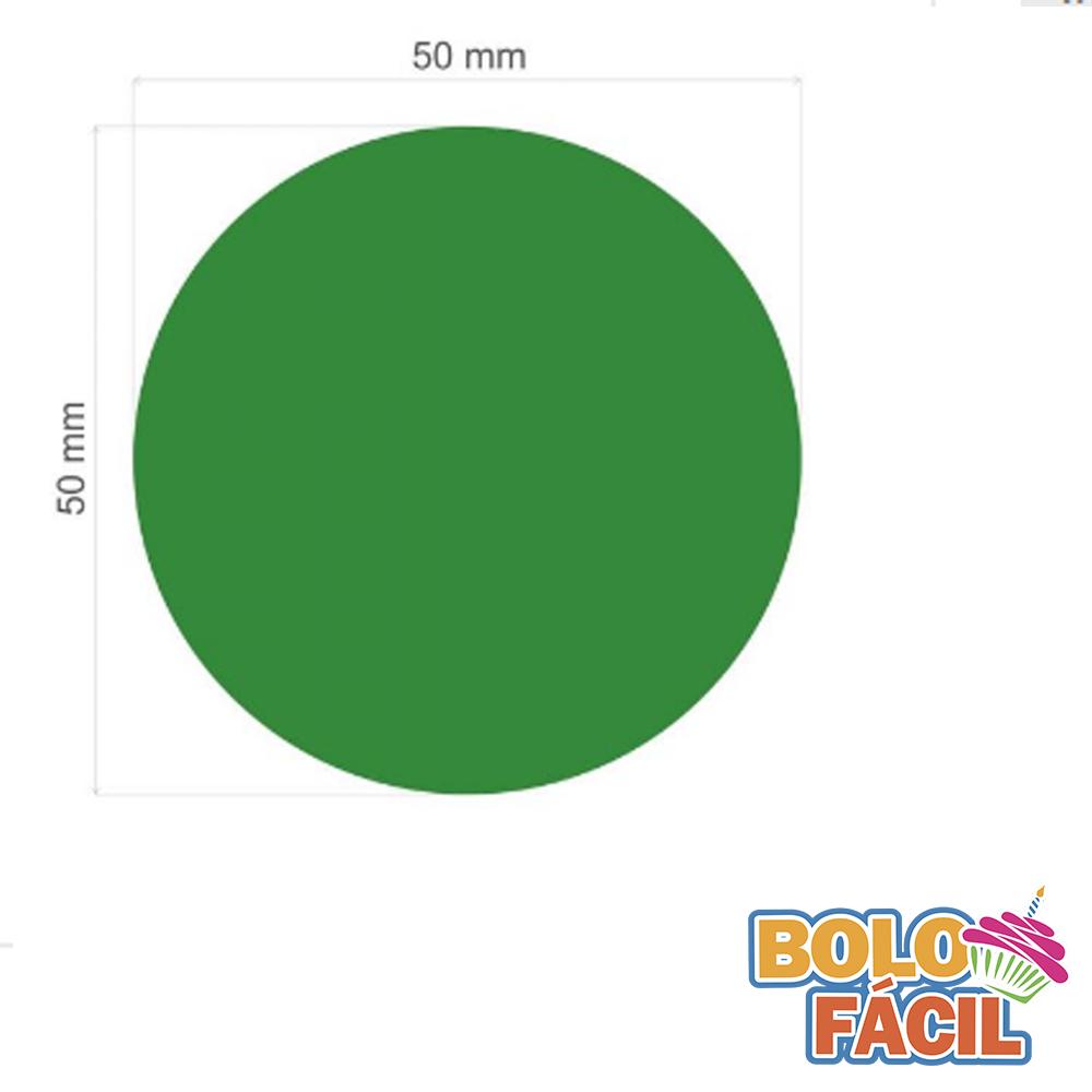 Cortador De Papel Arroz Bolo Fácil - Formato De Círculo (5,0cm)