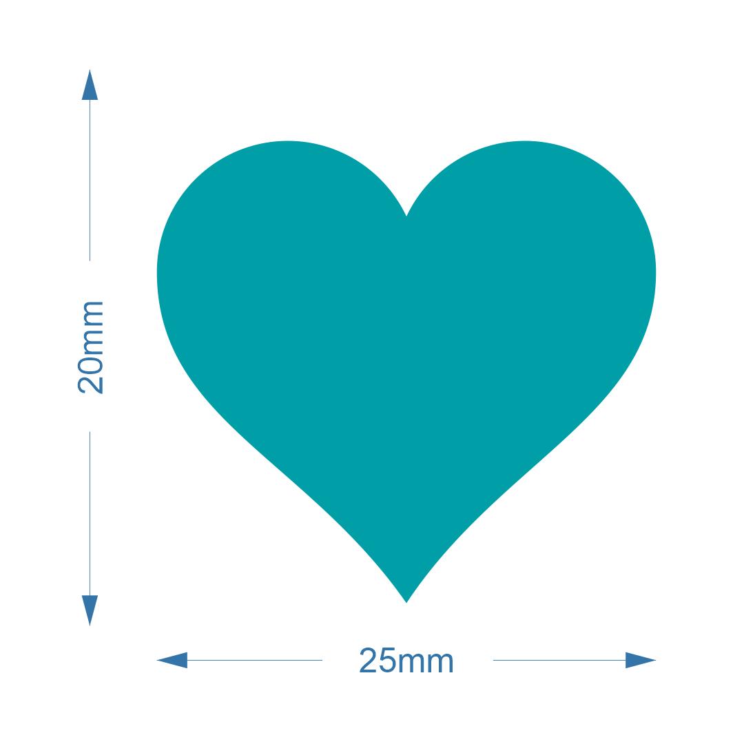 Cortador de Papel Arroz - Coração pequeno