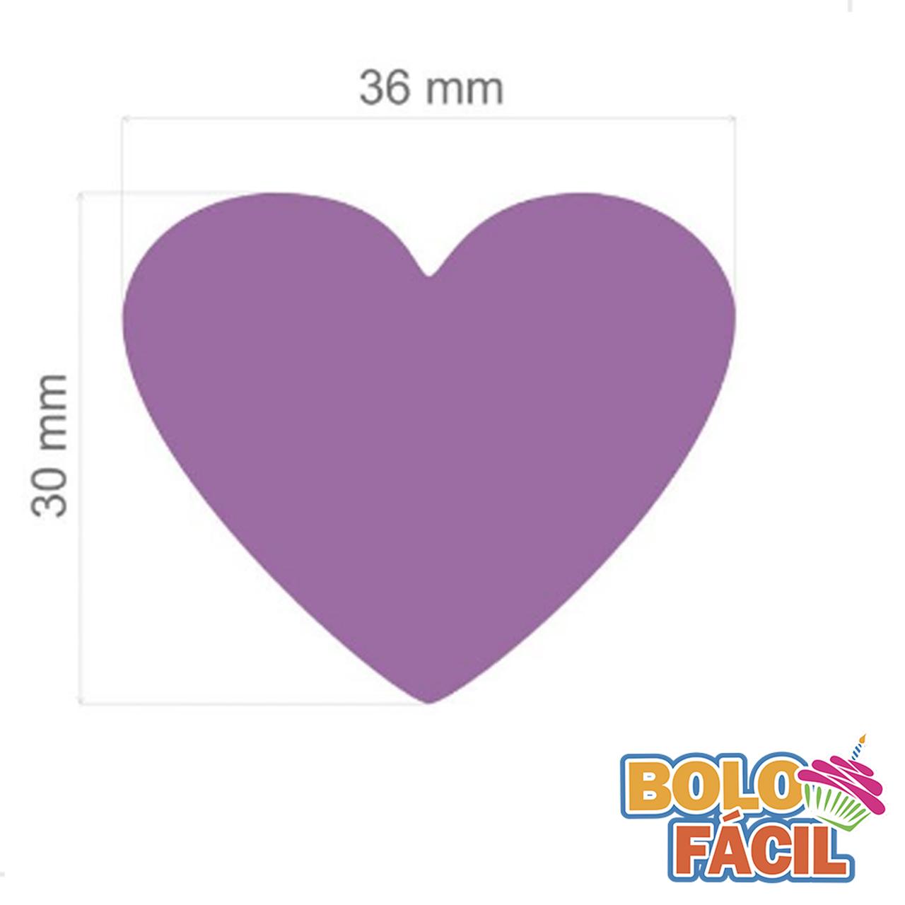 Cortador de Papel Arroz - Formato Coração
