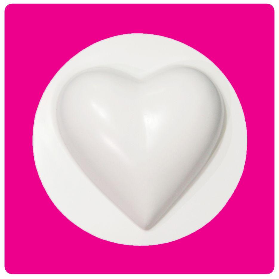 Molde Coração 22cm Médio - Bolo Fácil