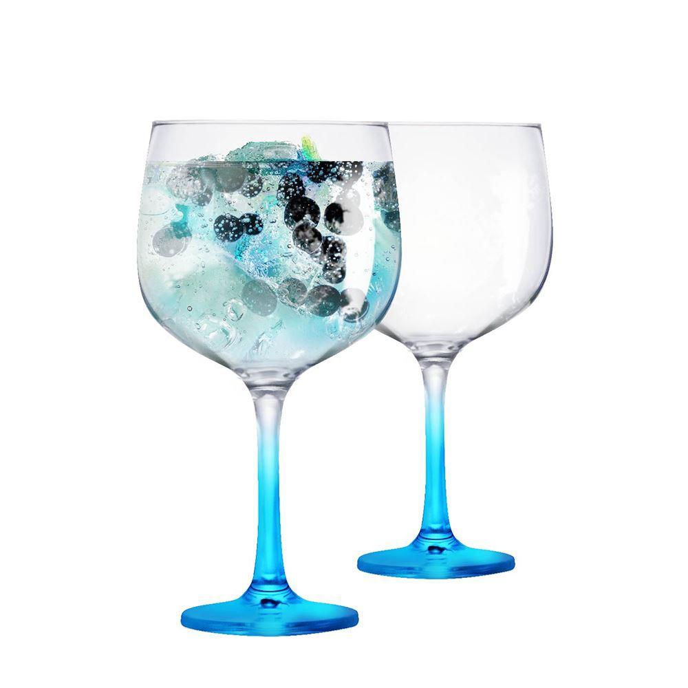 2 Taças Gin de Vidro 650ml Ideal Bombay Tanqueray Beefeater