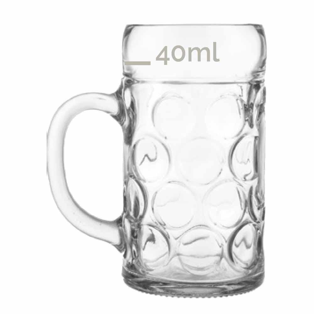 Caneca para Degustação Mass Krug Mini Vidro 50ml
