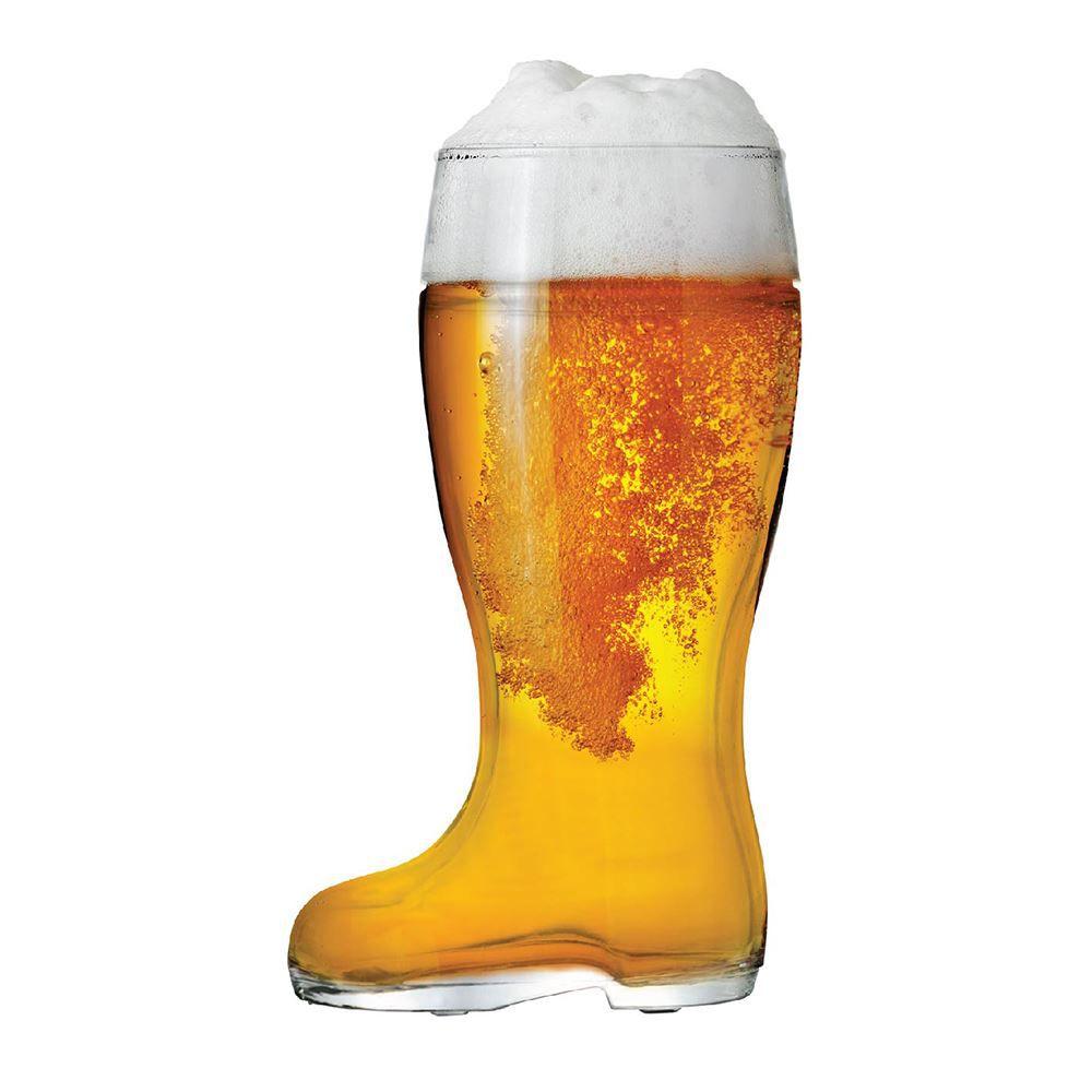 Copo Bota para Cerveja Bota Stiefel G Vidro 1210ml