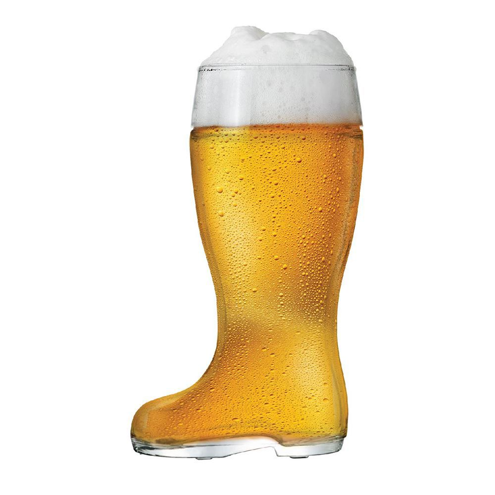 Copo Bota para Cerveja Bota Stiefel M Vidro 620ml