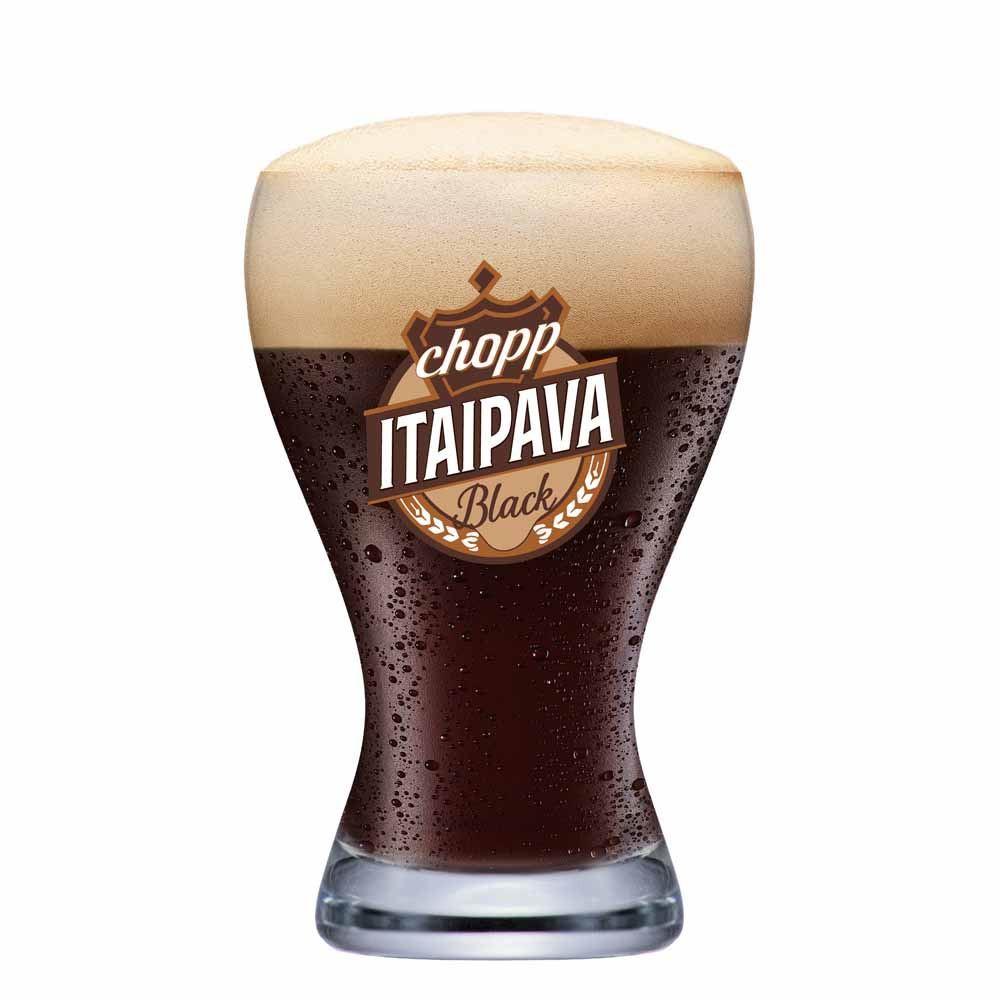 Copo de Cerveja Chopp Itaipava Black Cristal 420ml