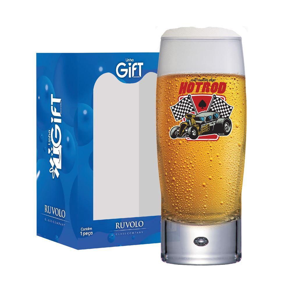 Copo de Cerveja com Frases Carro Motors Hotrod Strange 300ml