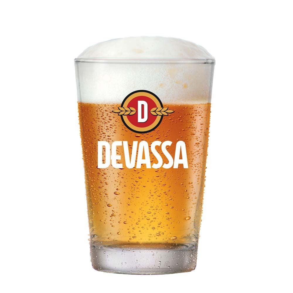 Copo de Cerveja Devassa Caldereta Vidro 350ml