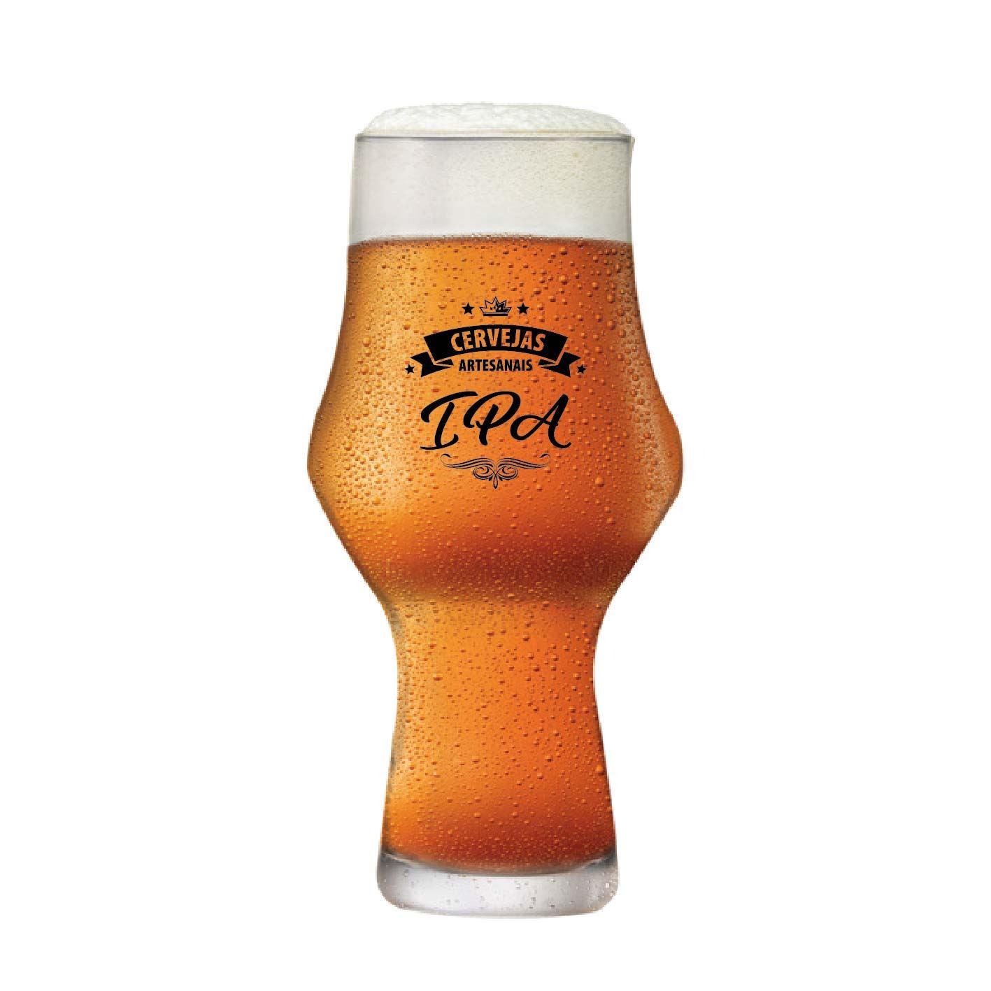 Copo de Cerveja Instituto Sommelier Ipa Cristal 435ml