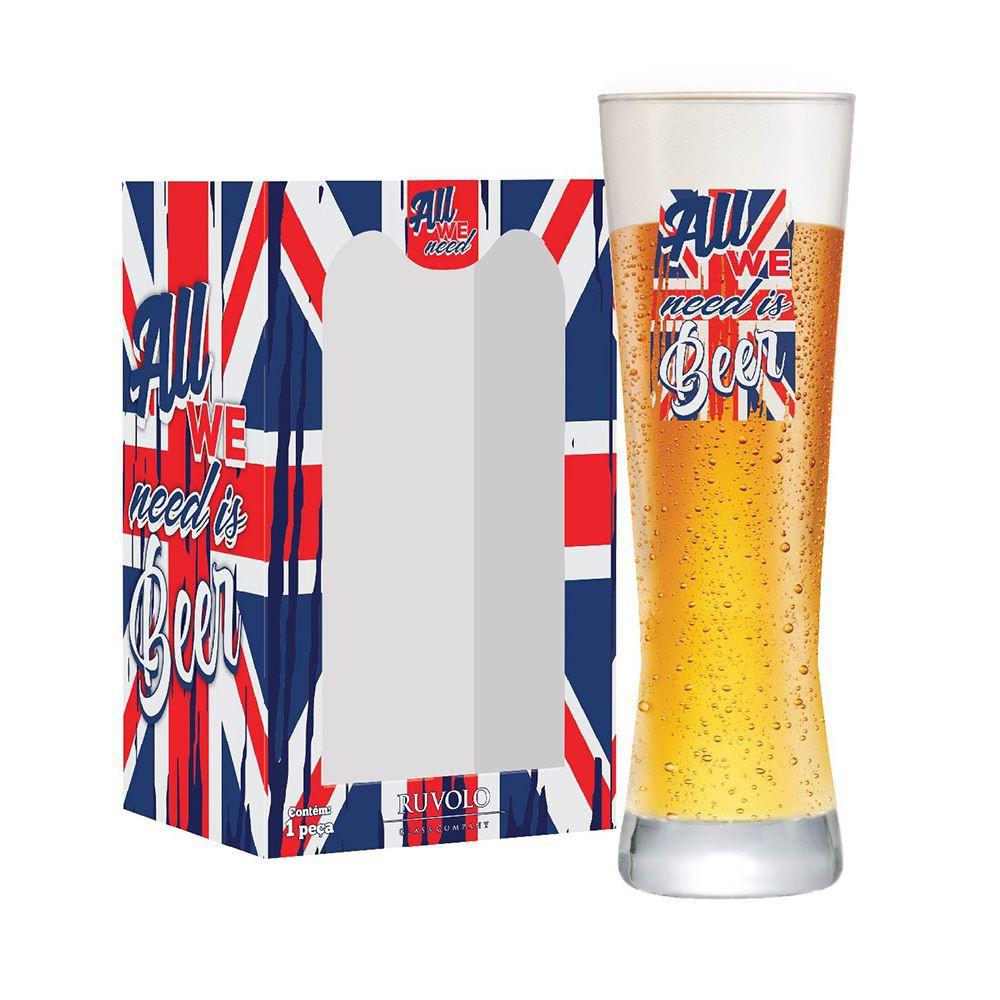 Copo de Cerveja Legais All We Need Au We Polite 280ml