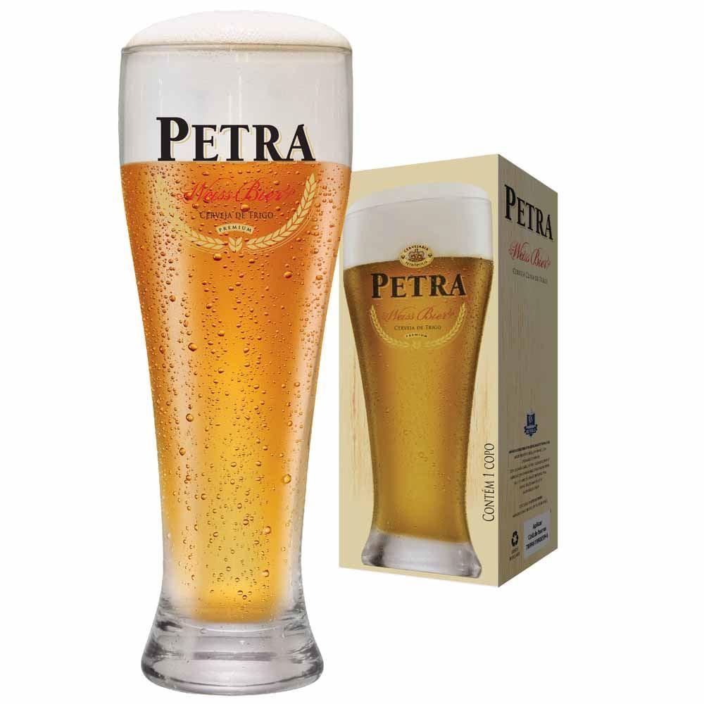 Copo de Cerveja Petra Weiss Cristal 680ml