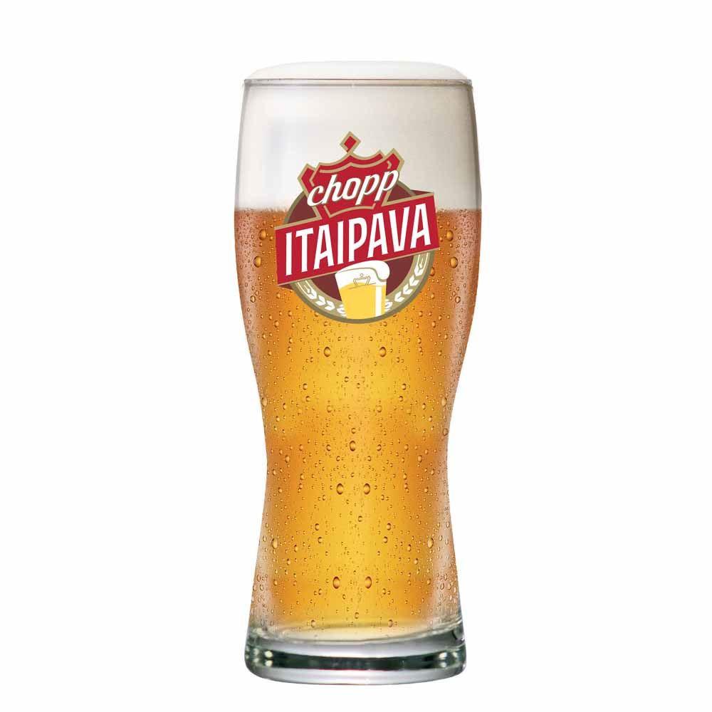 Copo de Cerveja Tulipa Chopp Itaipava Vidro 325ml