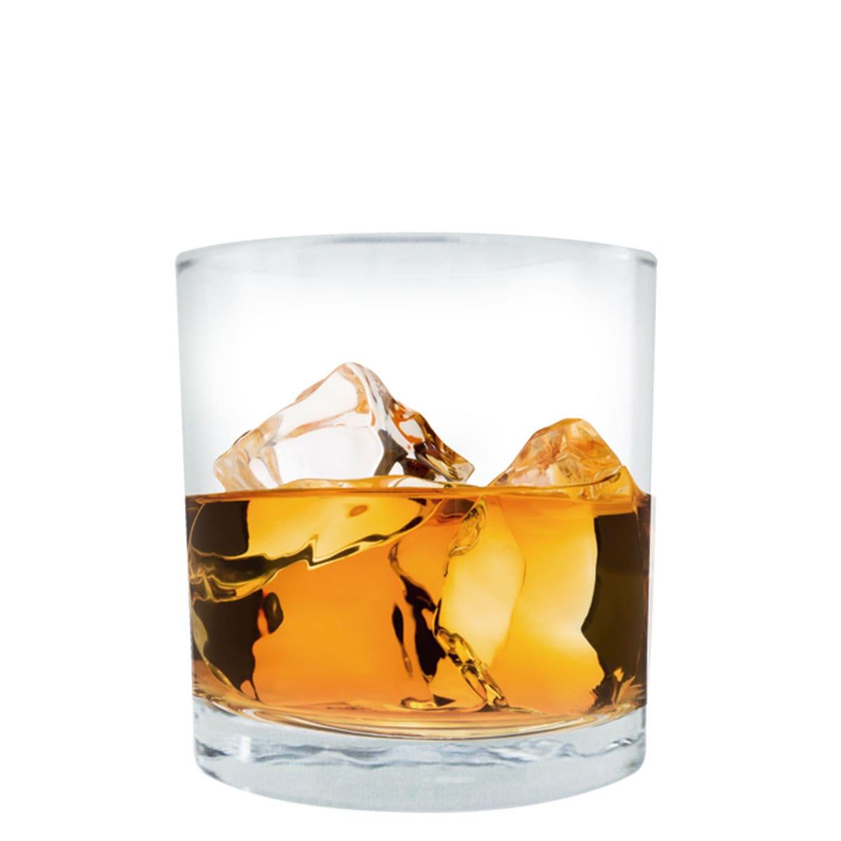 Copo de Whisky Prestige On The Rocks Vidro 335ml R$7.17 a unid. (Caixa com 24 unidades)