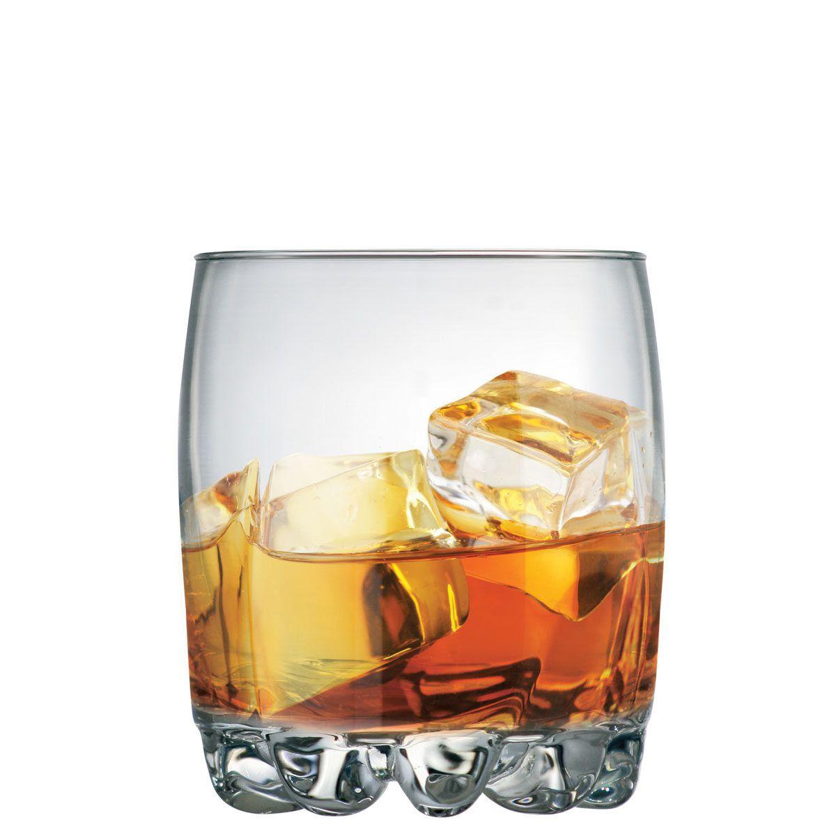 Copo de Whisky Riviera On The Rocks Vidro 335ml (Caixa com 24 unidades)