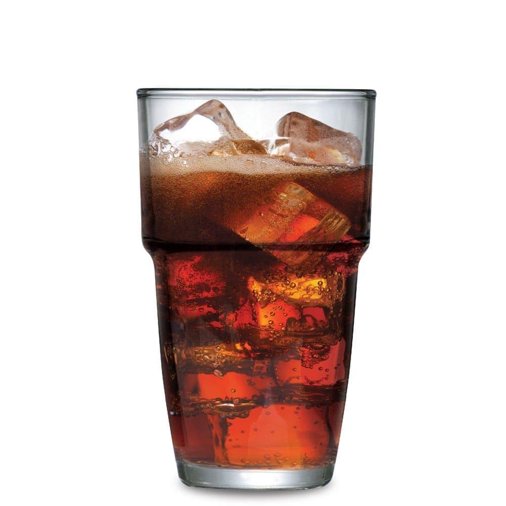 Copo Long Drink Empilhavel Vidro 360ml R$6.83 a unid. (Caixa com 24 unidades)