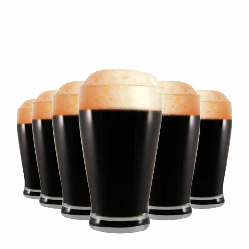 Jogo Copos Cerveja Atlantik Cristal 425ml 6 Pcs