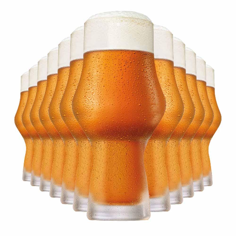 Jogo Copos Cerveja Can Vidro 473ml 12 Pcs