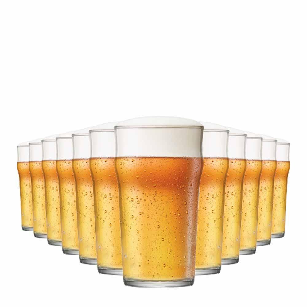 Jogo Copos Cerveja Nonic G Vidro 590ml 12 Pcs