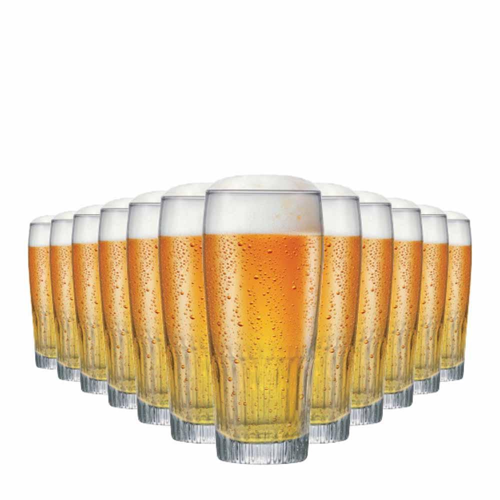 Jogo Copos Cerveja Paloma G Vidro 390ml 12 Pcs