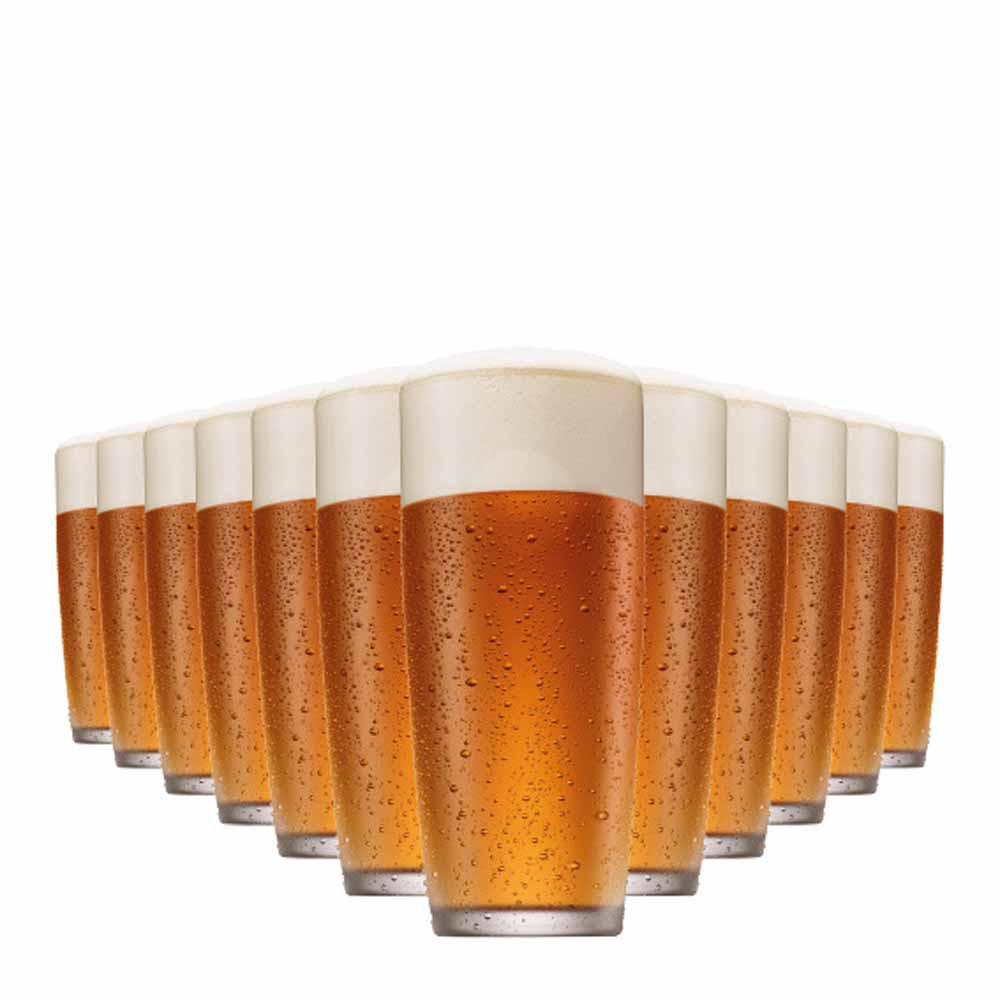 Jogo Copos Cerveja Prime M Vidro 320ml 12 Pcs
