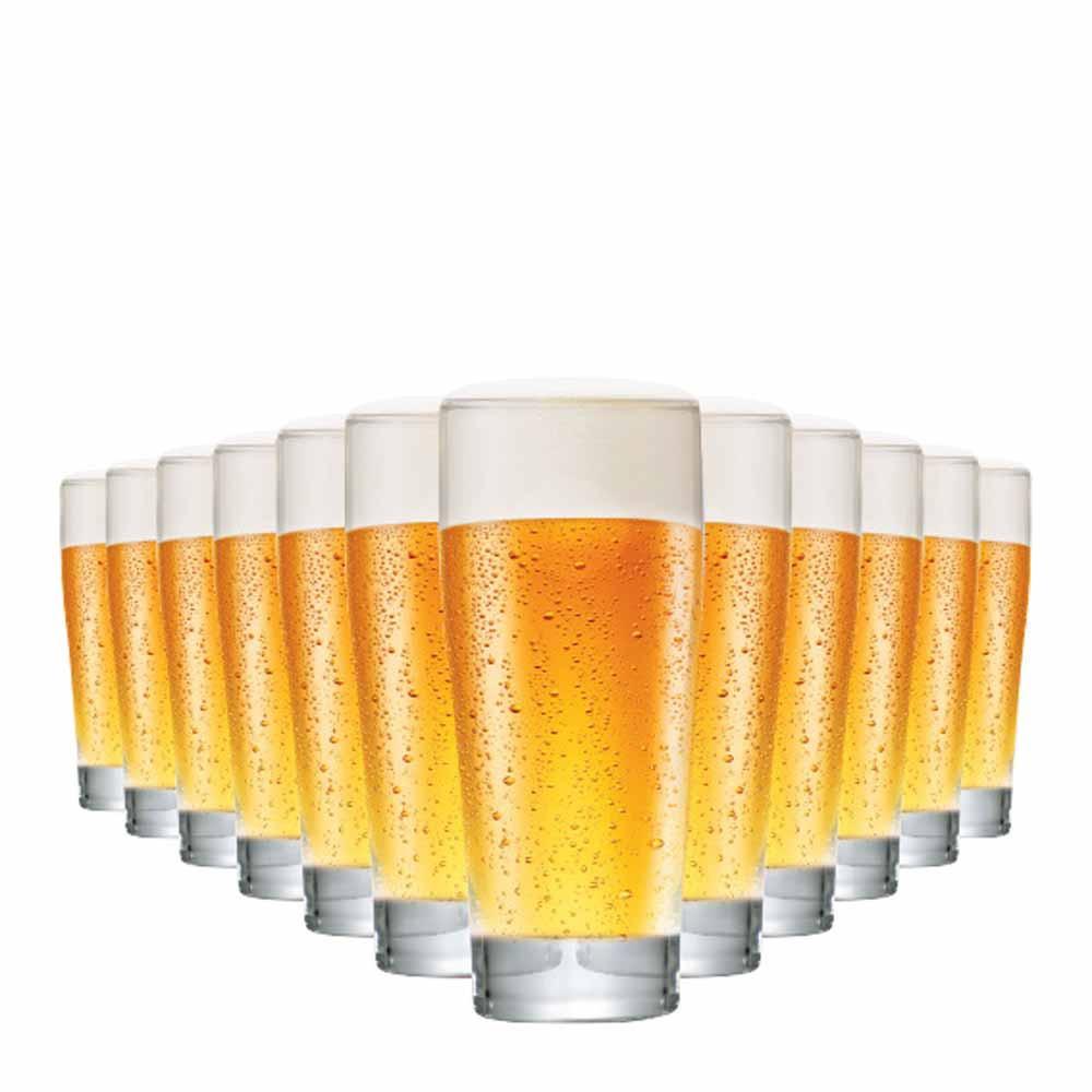 Jogo Copos Cerveja Prime P Vidro 220ml 12 Pcs
