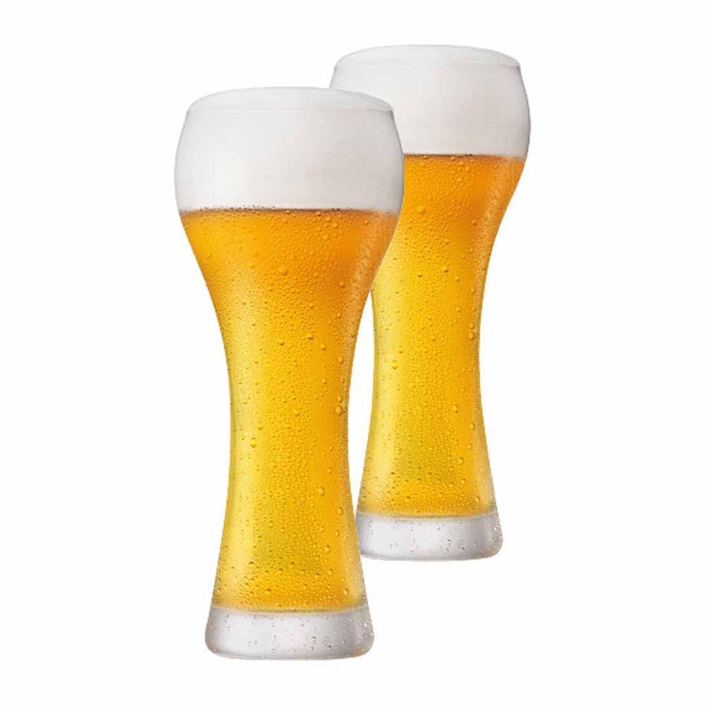 Jogo Copos Cerveja Weiss Premium G Cristal 500ml 2 Pcs