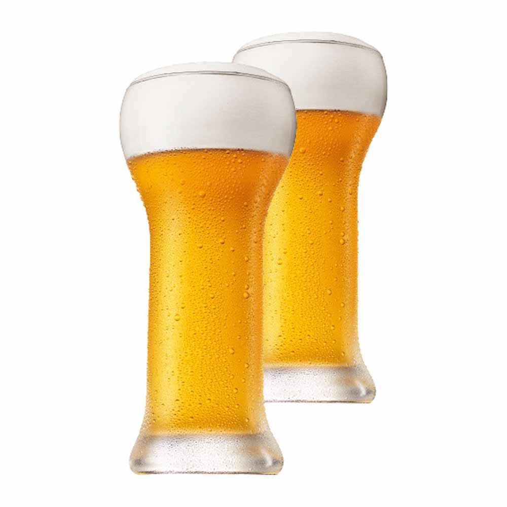 Jogo Copos Cerveja Wheatbeer Cristal 480ml 2 Pcs