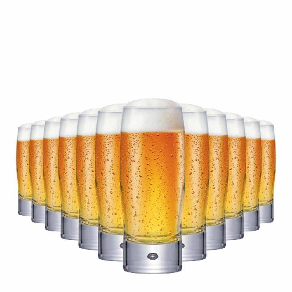 Jogo Copos Whisky Strange Long Drink Vidro 300ml 12 Pcs