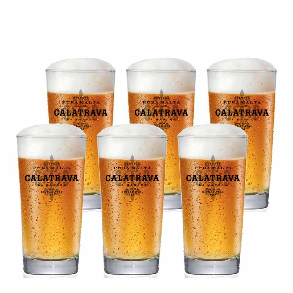 Jogo de Copos de Cerveja Frase Concord Tumbler Cristal 270ml