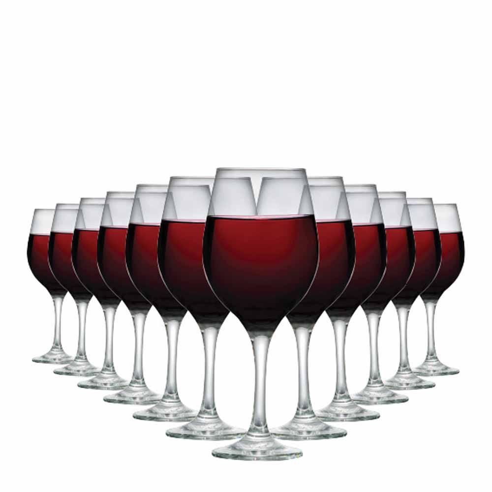 Jogo de Taças de Vinho One Vidro 490ml 12 Pcs