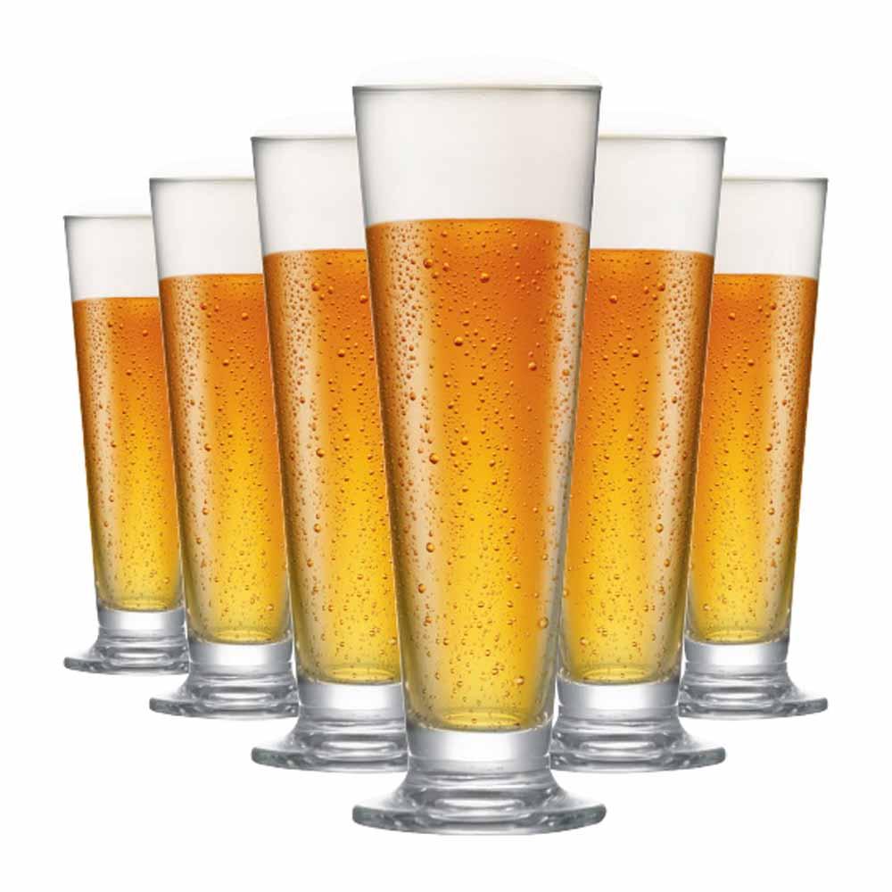 Jogo de Taças Cerveja Arena M Cristal 385ml 6 Pcs
