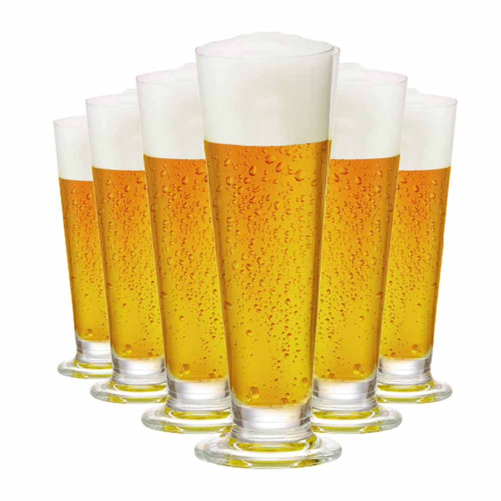 Jogo de Taças Cerveja Arena P Cristal 275ml 6 Pcs
