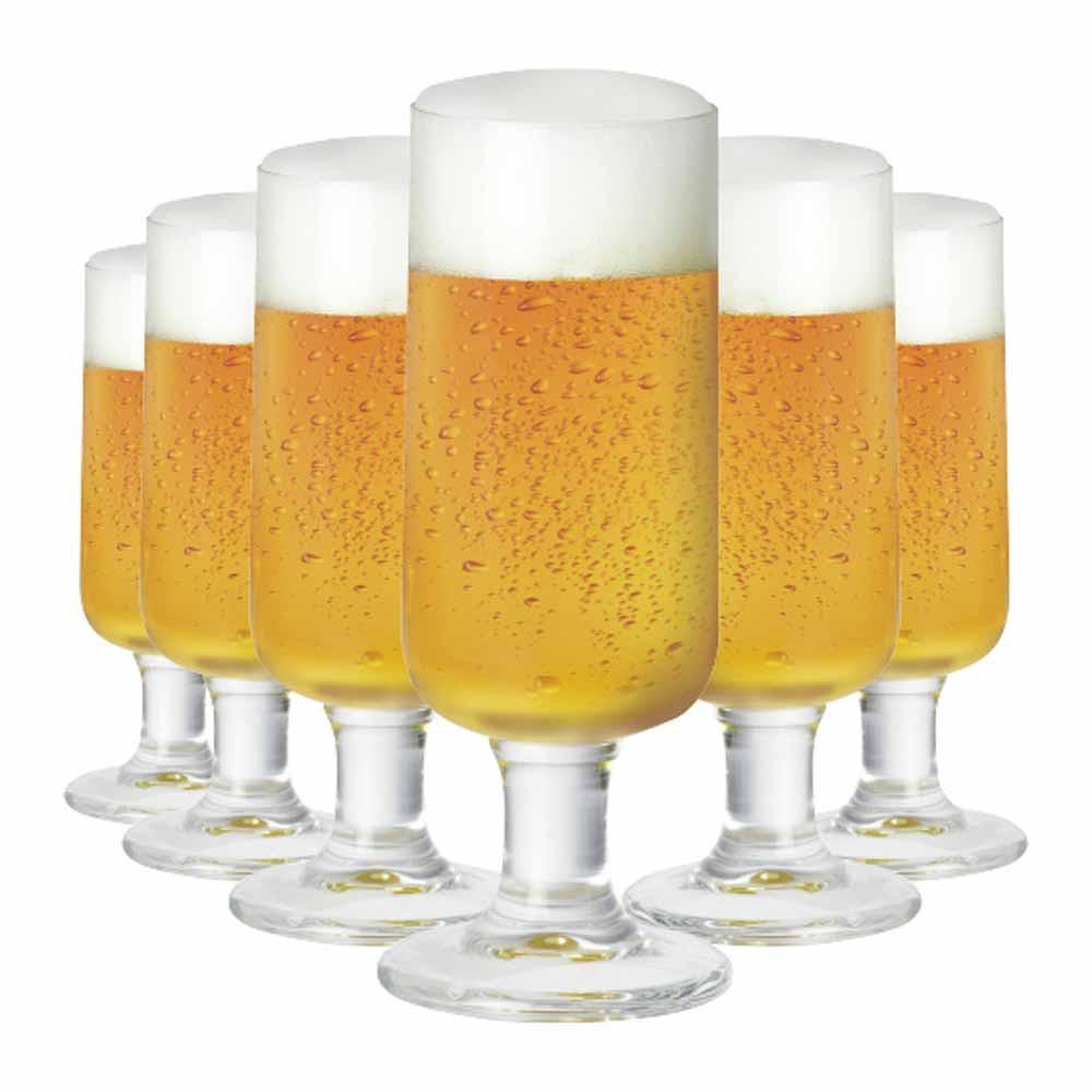 Jogo de Taças Cerveja Backs Cristal 380ml 6 Pcs